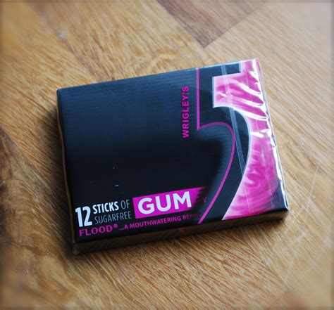 Or Gum Qwerty Wrigley S 5 Chewing Gum Flood Review