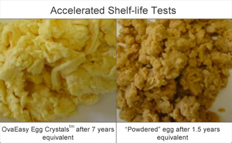 Accelerated Shelf Testing Of Food by Ova Easy Eggs Review Top Food Storage Reviews