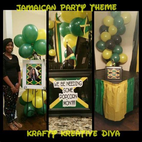 jamaican decorations jamaican theme decorating by krafty kreative