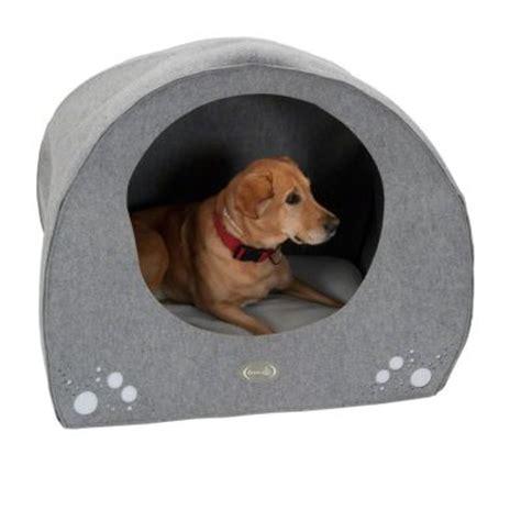 dog igloo bed dog igloo made from felt free p p 163 29 at zooplus