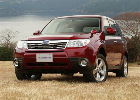 subaru forester   engine extra features