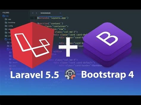 installing laravel bootstrap how to install and configure laravel 5 5 with bootstrap 4
