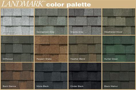certainteed landmark colors certainteed landmark colors landmark roofing shingles