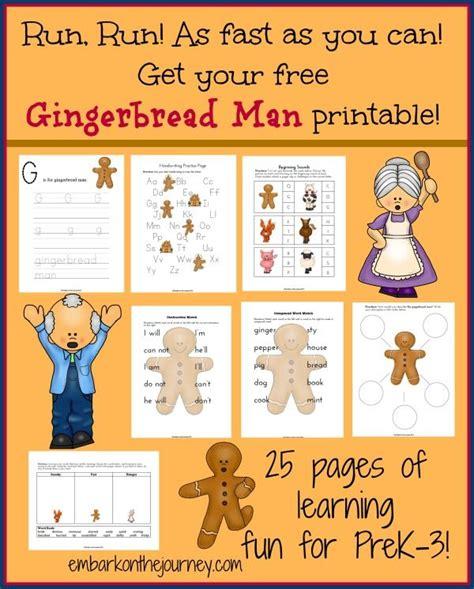 gingerbread man printable resources 125 best gingerbread man images on pinterest gingerbread