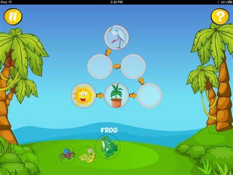 juego cadena alimentaria online quot food chains for kids quot app para ipad cadenas