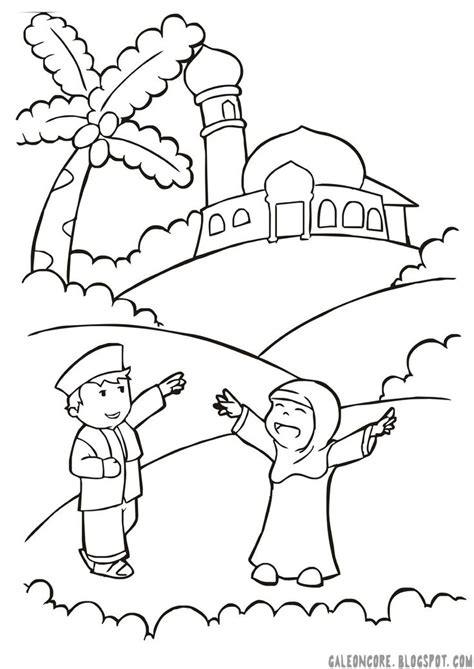 Coloring Pages For Islamic Studies | 304 best images about islamic studies for children on