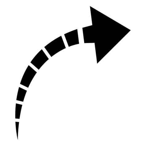 imagenes de setas blancas listrado seta curva baixar png svg transparente