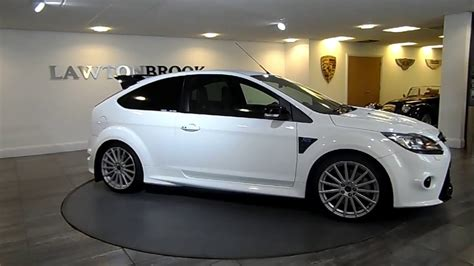 Ford Focus Rs Series Black And White Wheels ford focus rs white black lawton brook