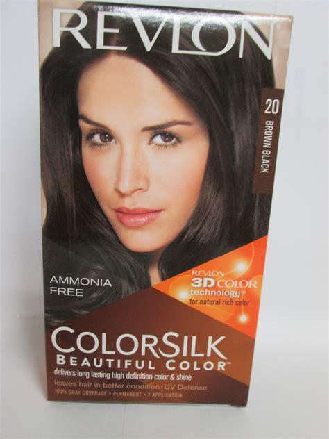 revlon brown hair color revlon colorsilk permanent color brown