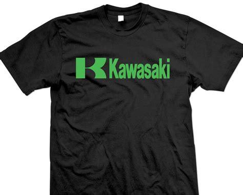 Kawasaki Shirt by Kawasaki T Shirt Black Green Logo Mule Vulcan Avt