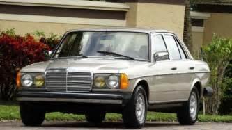 1985 mercedes 300d turbo diesel 96000