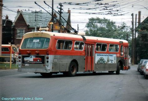 toronto trolleys and buses on flyers coaches and the o jays on