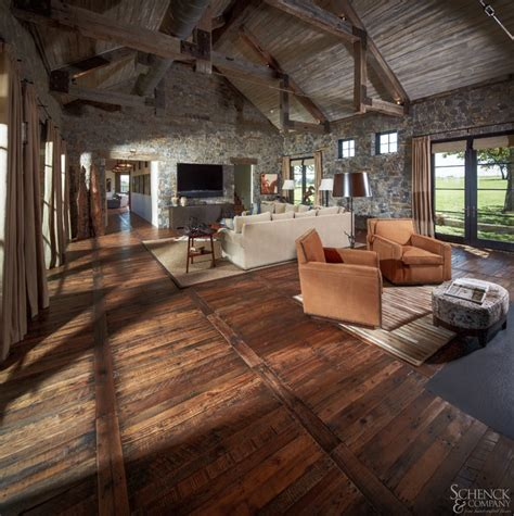 Made Floors by Appealing Pallets Traditional Family Room Houston