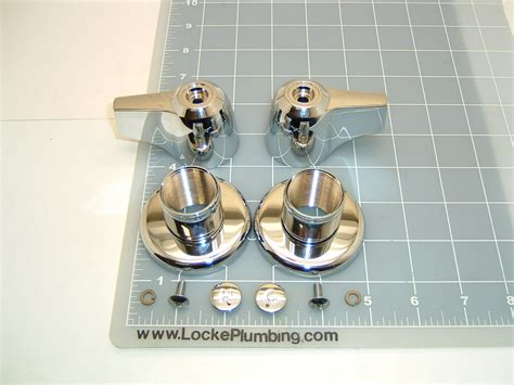 Eljer Bathtub Faucet Parts by Eljer 490 3469 Large Lever Handles And New Style Two