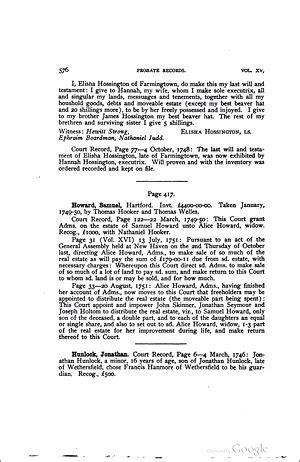 Connecticut Records Free Hoisington 1721 1798 Wikitree Free Family Tree