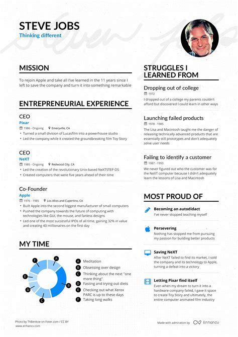 Steve Resume by Successful Resumes To Feel Proud Of