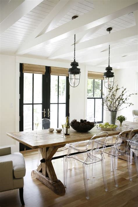 Ghost Chairs In Dining Room Ghost Chair Inspiration Homey Oh My