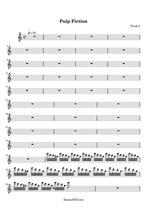 theme music pulp fiction pulp fiction sheet music pulp fiction score hamienet com