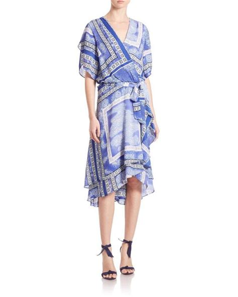 Dominica Dress dominica dress in blue save 1 lyst