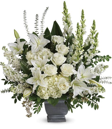 toronto funeral flowers telefloras true horizon bouquet