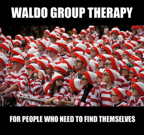 Waldo Meme - where s waldo therapy where s waldo where s wally