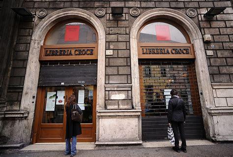 librerie in italia effetto sulla chiusura di 288 librerie in italia e