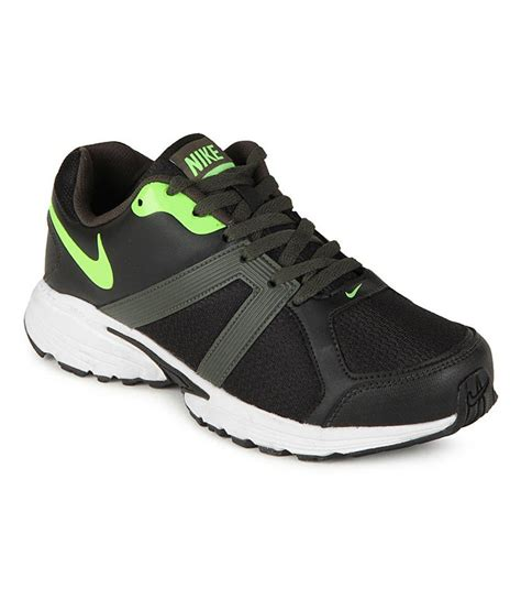 black nike running shoes nike black running sport shoes price in india buy nike