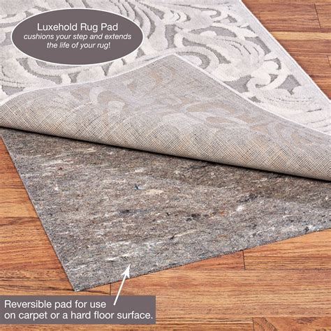 luxehold rug pad path in sand wool southwest area rugs