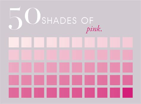 pink color shades fifty shades of pink image just pinning this for the