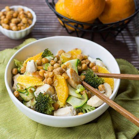 how to prepare for a spicy food challenge recipe orange chicken stir fry with spicy chickpeas