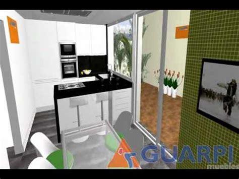 proyecto de cocina moderna  peninsula youtube