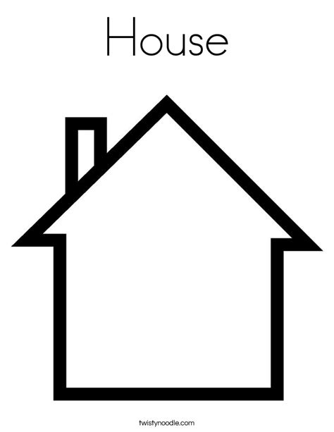 house coloring free printable coloring pages house 2015
