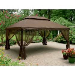 8 Ft Hardtop Gazebo by Gazebos Canopies And Pergolas Hardtop Kmart
