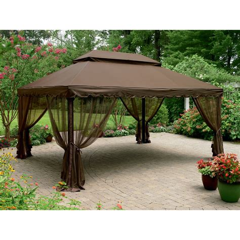 replacement awnings for gazebos grand resort replacement canopy for 12 ft x 16 ft deluxe