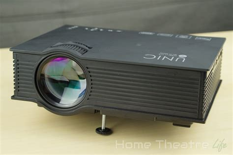 Proyektor Unic unic uc46 1200lm led multimedia projector review how can a sub 100 projector be home
