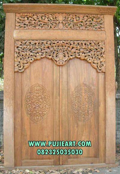 jual pintu gebyok ukir minimalis harga pintu gebyok ukir minimalis desain pintu gebyok ukir