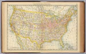 us map zoomable united states rand mcnally and company 1879