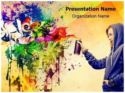 templates powerpoint graffiti 1000 images about fashion powerpoint templates and