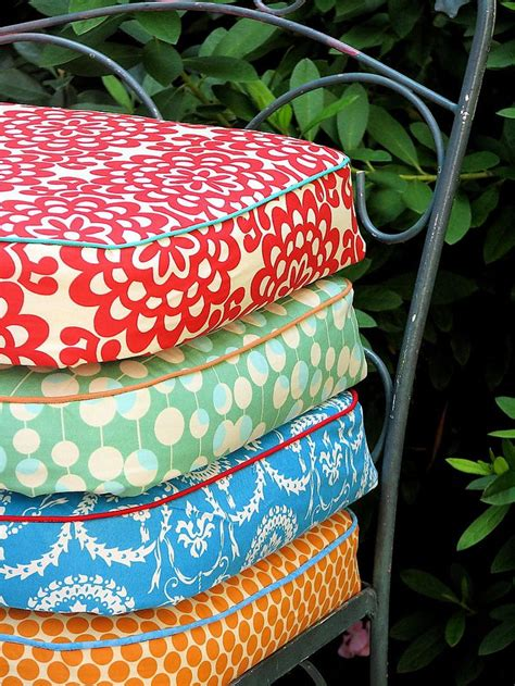 Waterproof Cushions For Patio Furniture Best 25 Garden Chair Cushions Ideas On Rustic Sleeper Chairs Sleeper Chair Bed And