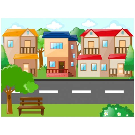 home design game add neighbours village background design vector free download