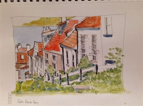 robin hoods bay cottages cottages tumbling to the sea no it s not erosion