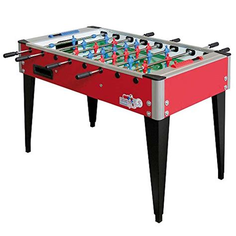 roberto sport college international red foosball table