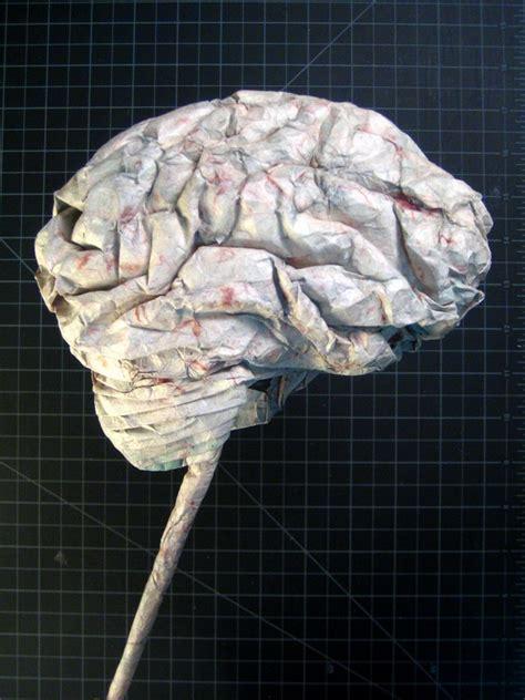 How To Make A Paper Brain - brain