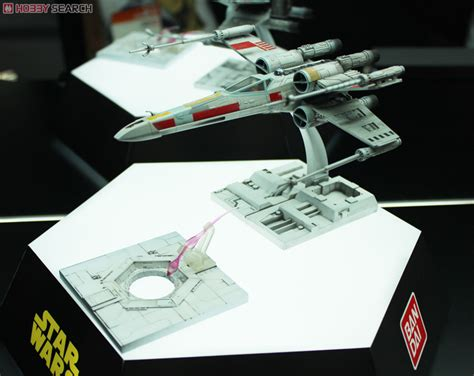 Promo Original Bandai Model Kit Starwars Tie Advance X1 wars plastic model kits coming from bandai