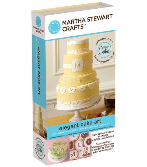 Cricut Cartridge Home Decor by Cricut Martha Stewart Crafts Shape Cartridge Elegant Cakes