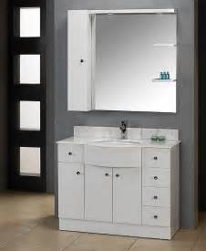White Vanity Bathroom A Sophisticated White Vanity Gives Your Bathroom A Clean