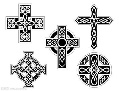 十字架装饰花纹矢量图片 图片id 668035 其他 底纹边框 矢量素材 淘图网 taopic com