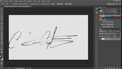 como hacer imagenes sin fondo en photoshop como digitalizar una firma con fondo transparente en