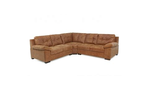 Land Of Leather Corner Sofas Lechie Leather Corner Sofa Comfyland