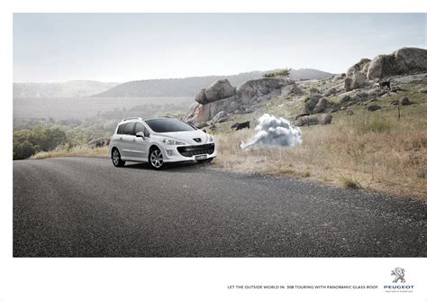 peugeot commercial peugeot print advert by arnold cloud ads of the world